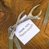 Silver Antler Bottle Opener Favor (Package of 6)