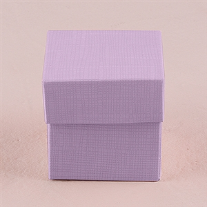 Lavender Favor Box With Lid (Package of 10)