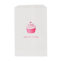 Topped with Love Printed Flat Paper Goodie Bag  (set of 25)
