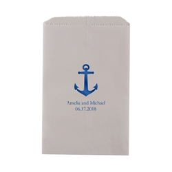 Anchor Printed Flat Paper Goodie Bag(set of 25)